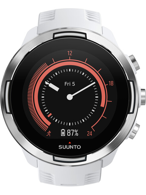 Suunto 9 GPS Mulitsport Watch Baro White